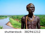 Small photo of Ethiopia man, homo valley