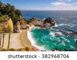 wild beach on the california...   Shutterstock . vector #382968706