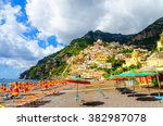 Amazing Beach In Positano On...