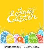 easter   Shutterstock .eps vector #382987852