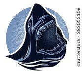 shark | Shutterstock .eps vector #383052106