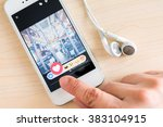 bangkok  thailand   february 26 ... | Shutterstock . vector #383104915