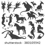 Silhouette Collection Of...