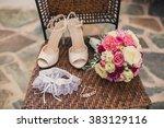 wedding decorations | Shutterstock . vector #383129116