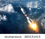 Carrier Rocket Launch In The...