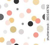 circle pattern. modern stylish... | Shutterstock .eps vector #383168782