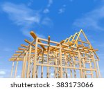 Wooden Frame Under Constructio...
