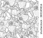 hand drawn artistic ethnic...   Shutterstock .eps vector #383185816
