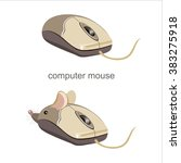 Funny Computer Mouse With Ears...