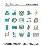 photography  equipment  post... | Shutterstock .eps vector #383287066
