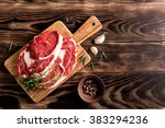 beef steak | Shutterstock . vector #383294236