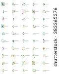 abstract company logo vector... | Shutterstock .eps vector #383365276
