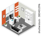 Home Offices Room Isometric...