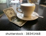 Tip On A Counter  Bar Desk