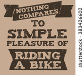 vintage quote grunge style | Shutterstock .eps vector #383426602