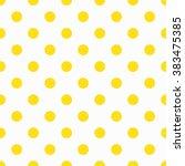 Yellow Polka Dot Pattern....