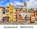 Girona   Colorful Town Near...