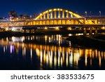 the maishuaiyi bridge over the... | Shutterstock . vector #383533675