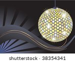 disco ball. these are raster... | Shutterstock . vector #38354341
