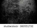 Old Black Background. Grunge...