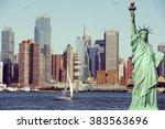 vintage toned  instagram effect ... | Shutterstock . vector #383563696