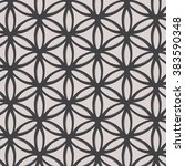 geometric vector pattern.... | Shutterstock .eps vector #383590348