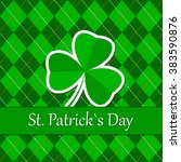 happy st. patrick's day | Shutterstock .eps vector #383590876