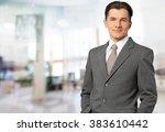 businessman. | Shutterstock . vector #383610442