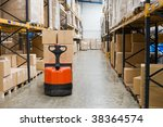 industrial warehouse and