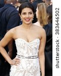 Small photo of Priyanka Chopra at the 88th Annual Academy Awards held at the Hollywood & Highland Center in Hollywood, USA on February 28, 2016.