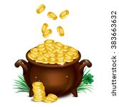 Pot Of Gold  Magical Treasure ...