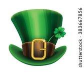 st. patrick's day green... | Shutterstock .eps vector #383667856