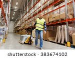 wholesale  logistic  loading ... | Shutterstock . vector #383674102