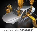 3d rendering  vehicle... | Shutterstock . vector #383674756