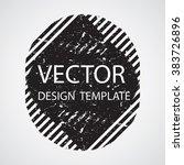 sticker element for your design.... | Shutterstock .eps vector #383726896
