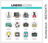 line icons set of creative...