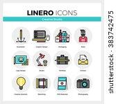 line icons set of creative...