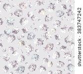 vintage little flower seamless... | Shutterstock .eps vector #383747242