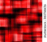red abstract seamless tartan... | Shutterstock . vector #383768656