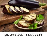 Grilled Eggplant And Parsley...