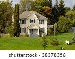 Pretty house - stock photo