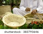 Basket Weaving Using The Dried...