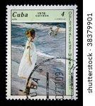 cuba   circa 1978  a stamp... | Shutterstock . vector #38379901