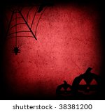 the halloween abstract... | Shutterstock . vector #38381200