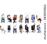 people diversity office culture  | Shutterstock . vector #383850862