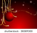 darkly red illustration with... | Shutterstock .eps vector #38389300