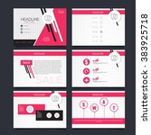 vector template for... | Shutterstock .eps vector #383925718