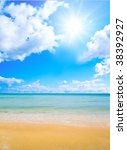 beach | Shutterstock . vector #38392927