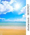 beach | Shutterstock . vector #38392927