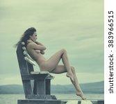 photo of beautiful nude woman... | Shutterstock . vector #383966515